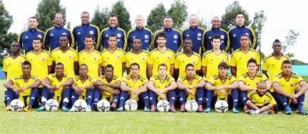 Selección Colombia para el Campeonato Mundial sub. 20