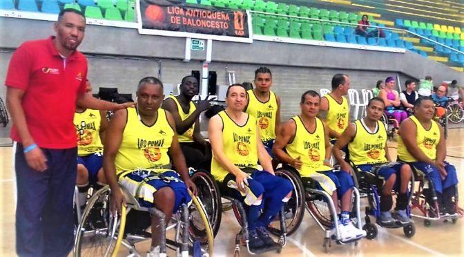 Club 'Te Ayudamos de Palmira', campeón del Interclubes de baloncesto en silla de ruedas