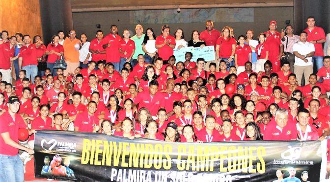 Palmira  buscará el título general de los Juegos Departamentales 2019