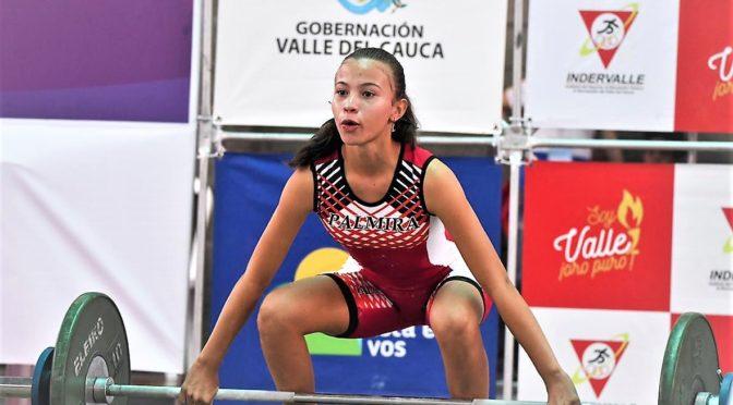 Palmira se alzó con el título del levantamiento de pesas en los Juegos Departamentales