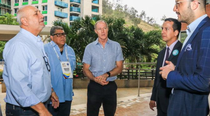 CUMBRE DE JUEGOS PANAMERICANOS JUNIOR EN CALI CON LOS MÀS IMPORTANTES DIRIGENTES DEL DEPORTE EN AMÈRICA