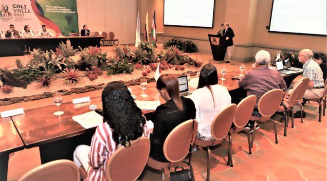 ORGANIZACIÓN DE JUEGOS PANAMERICANOS CALI VALLE 2021,Y PANAM SPORTS CUMPLIERON EXITOSA AGENDA DE TRABAJO