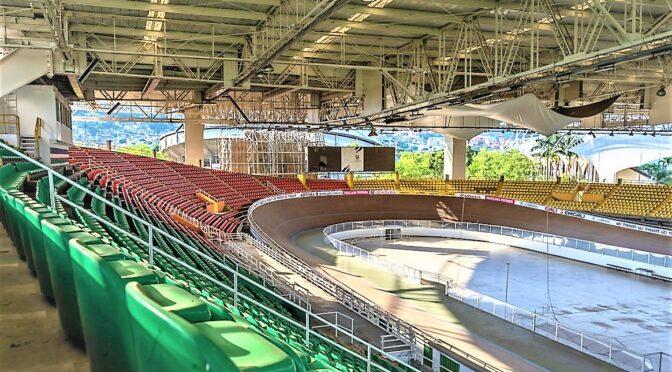 El velódromo se engalanaRÀ para Panamericanos Junior Cali-Valle 2021