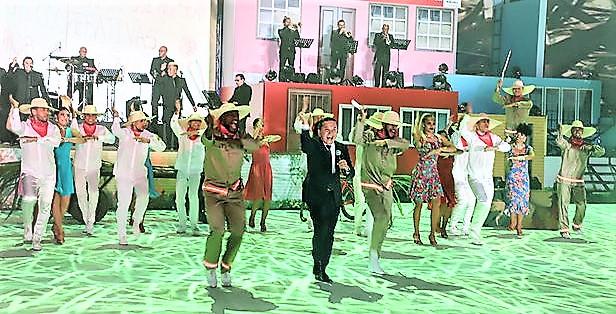 Yuri Buenaventura le colocó un punto alto a la Feria de Cali.